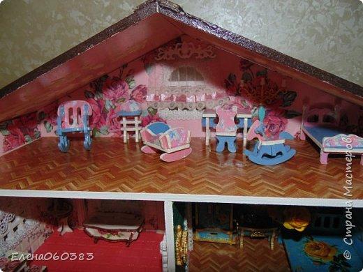 Продолжаю тему кукольных домиков фото 14