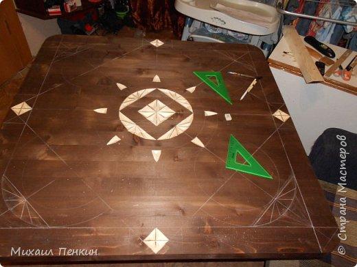 стол в процессе... фото 1