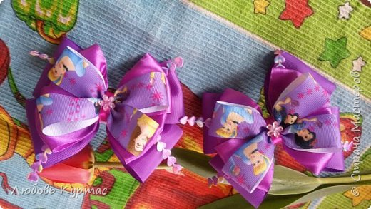 Банты школьные на резинках  фото 10