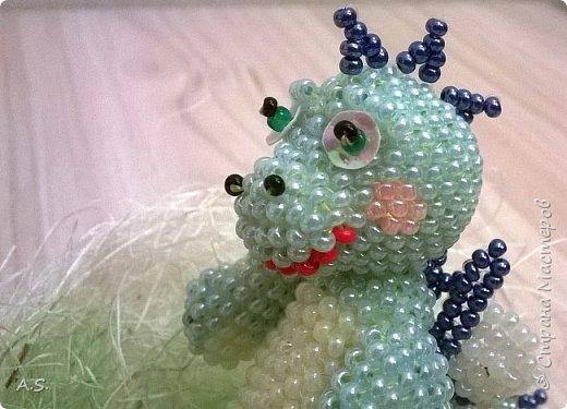 Сплёлся у меня дракончик для сына. По мастер классу от замечательной мастерицы Бригантины http://stranamasterov.ru/node/268451?c=favorite  фото 10