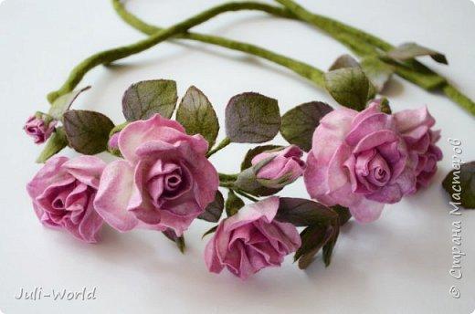Пояс розы фото 2