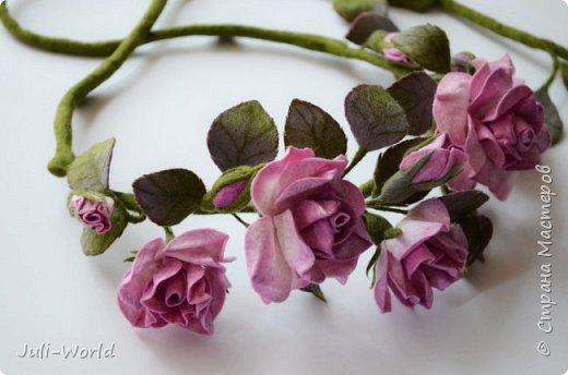 Пояс розы фото 3
