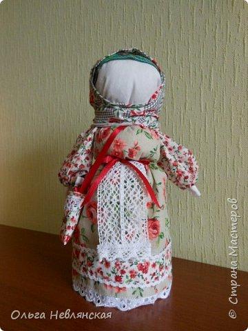 делали с детьми проект по обрядовой народной кукле. и заразилась . Это кукла Вербница фото 3