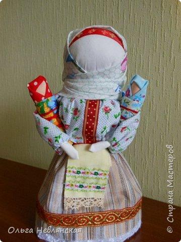 делали с детьми проект по обрядовой народной кукле. и заразилась . Это кукла Вербница фото 7