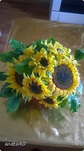 Холоднофарфоровые цветочки фото 1