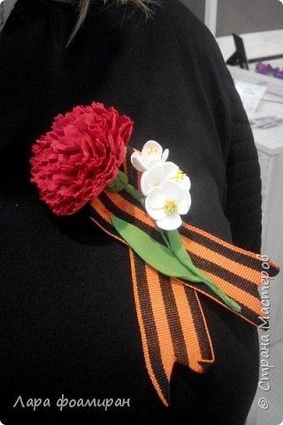 Бутоньерка к празднику)) фото 3