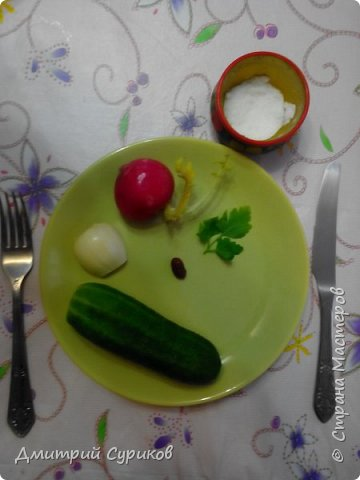 Это изящная овощная закуска понравится даже самым изысканным гурманам!