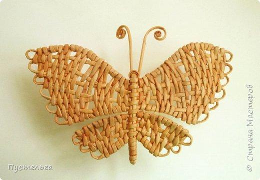 Скоро лето! Сплетём бабочку!