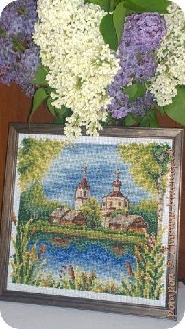 Здравствуйте! Сегодня хочу показать вышивку крестиком в подарок для моей мамы.Думаю ей должно понравится, она любит получать подарки сделанные своими руками, хотя наверное такие подарки любят получать все! фото 7