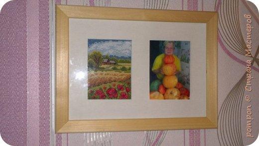 Здравствуйте! Сегодня хочу показать вышивку крестиком в подарок для моей мамы.Думаю ей должно понравится, она любит получать подарки сделанные своими руками, хотя наверное такие подарки любят получать все! фото 8