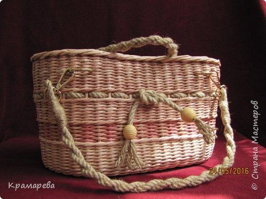 Всем доброго вечера! За последний месяц в СМ появилось столько плетёных сумок  - красивых и разных! Это и не удивительно - дачно-пляжный сезон рулит! Вот и я решила сплести себе такую сумку, а сподвигла меня на это Людмила Александровна http://stranamasterov.ru/node/1024304?c=favorite. фото 1