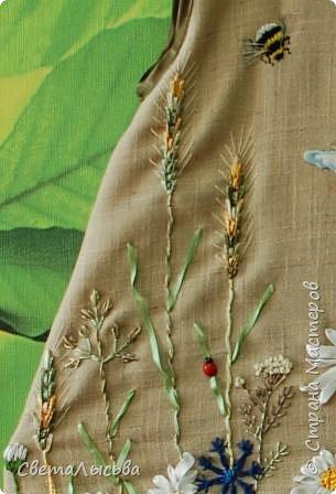 Здравствуйте все! Насмотрелась на работы Светы Хачиной https://stranamasterov.ru/node/916008 и решила к осеннему балу для девочек сшить платья да чтобы все в цветах были! фото 6