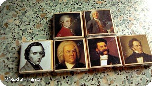 У племянницы в этом году выпускной в музыкальной школе, вот такие получились коробочки учителям по специальности) фото 16