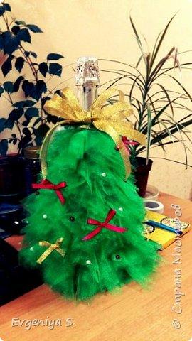 Как хорошо, когда есть друзья, которые фоткают твои поделки)) Елка новогодняя)