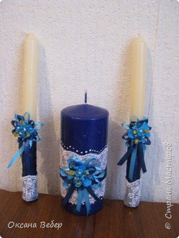 еще одна свадьба в синем цвете фото 4