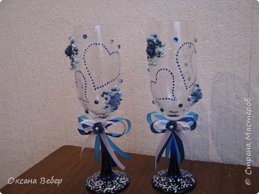 еще одна свадьба в синем цвете фото 6