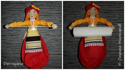 Мои первые заказики - куколки украиночки. фото 3