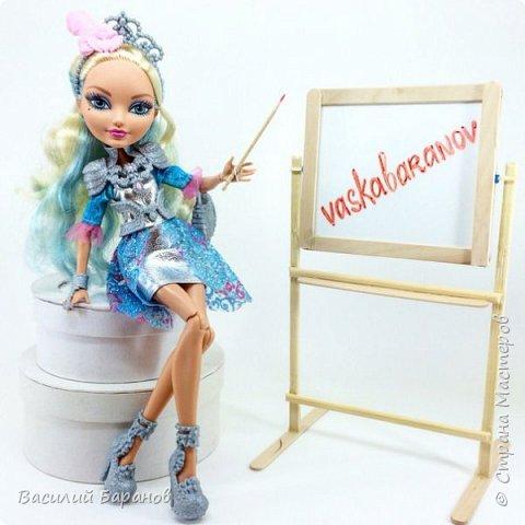Двусторонняя маркерная доска для куклы