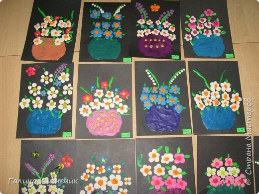 Цветы в вазе фото 3