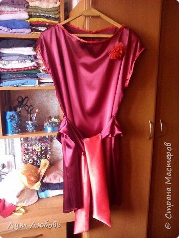 Мое первое платье  фото 1