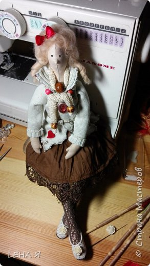 тильда-моя Дуся фото 3