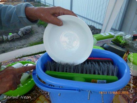 """Увидел в интернете нечто похожее и решил воплотить это чудо посудомойку на даче. В интернете очень дорого стояла, а мне обошлась """"в копейки"""". фото 6"""