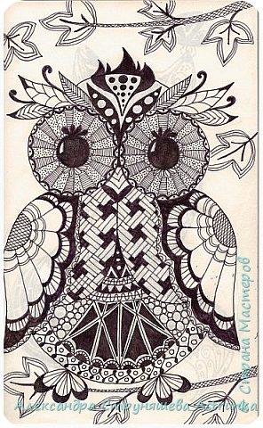 Рисование в стиле зенарт, зентангл, картины в стиле дудлинг и мандалы – все это не только необычные техники рисования, это еще и целая Вселенная, скрытая художником в переплетениях замысловатых узоров! Не устояла и я))) Узоры рисуются гелевыми или капиллярными ручками, обычно черного цвета, но можно и разноцветными...  фото 8