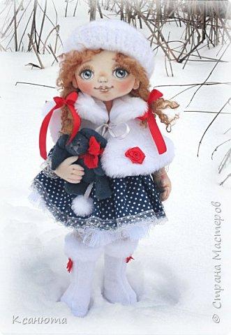 Сонечка.Текстильная куколка. фото 2