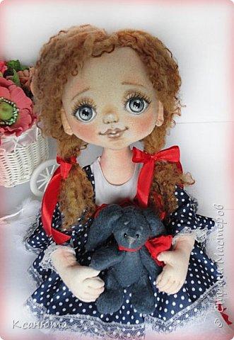 Сонечка.Текстильная куколка. фото 12