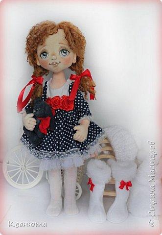 Сонечка.Текстильная куколка. фото 10