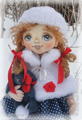 Сонечка.Текстильная куколка. фото 3
