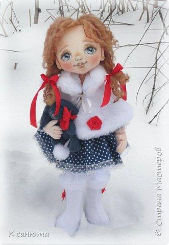 Сонечка.Текстильная куколка. фото 1