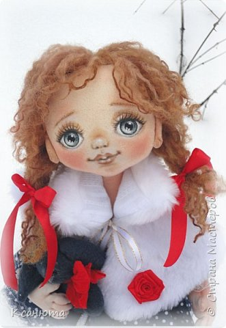 Сонечка.Текстильная куколка. фото 4