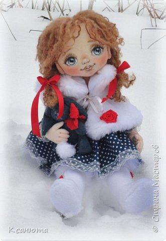 Сонечка.Текстильная куколка. фото 5