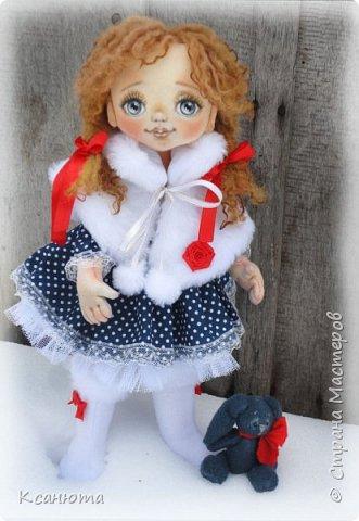 Сонечка.Текстильная куколка. фото 6