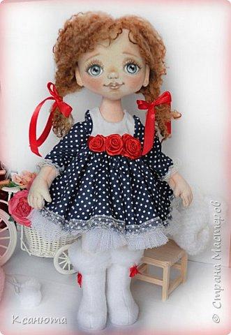 Сонечка.Текстильная куколка. фото 7