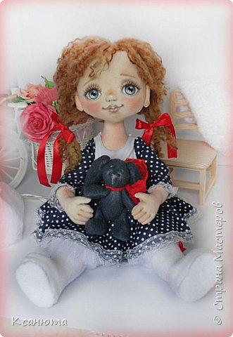 Сонечка.Текстильная куколка. фото 8