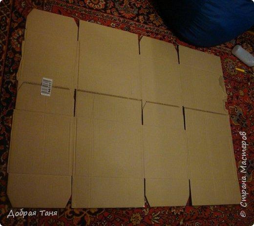 домик из картонных коробок фото 2