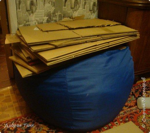 домик из картонных коробок фото 1