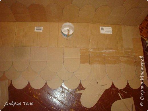домик из картонных коробок фото 9