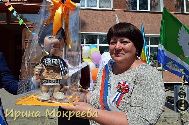 Ещё одна кукла в подарок учителю. фото 9