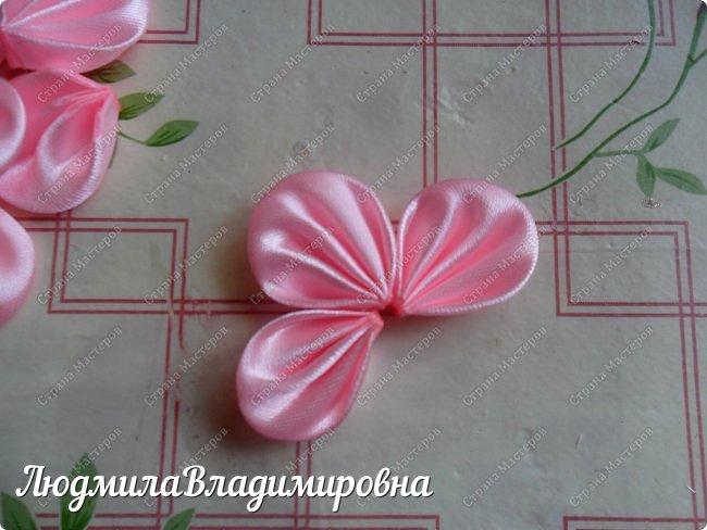 В этом МК я поделюсь (как кому) своим способом крепления цветочков к основе заколки клик-клак фото 5