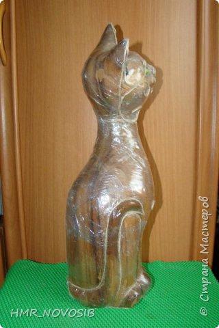 Добрый вечер дорогие друзья и милые мои соседи! Перед вами мое новое творение - джутовый котик - светильник. Завтра день рожденье у моей подруги и это ей подарок. Моя подруга ярая кошатница, поэтому думаю подарок ей придется по душе. фото 7