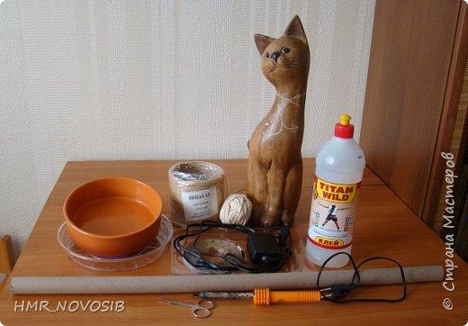 Добрый вечер дорогие друзья и милые мои соседи! Перед вами мое новое творение - джутовый котик - светильник. Завтра день рожденье у моей подруги и это ей подарок. Моя подруга ярая кошатница, поэтому думаю подарок ей придется по душе. фото 4
