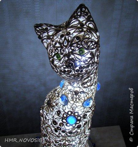 Добрый вечер дорогие друзья и милые мои соседи! Перед вами мое новое творение - джутовый котик - светильник. Завтра день рожденье у моей подруги и это ей подарок. Моя подруга ярая кошатница, поэтому думаю подарок ей придется по душе. фото 36