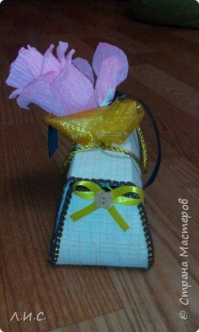 Здравствуйте, уважаемые мастера! Решила попробовать себя в свит-дизайне и сделать саквояжик, вариантов которого множество на страницах этого сайта. фото 3