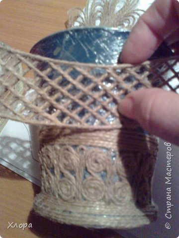 Такое вот панно с элементами джутовой филиграни подарила на День учителя любимой снохе. фото 3