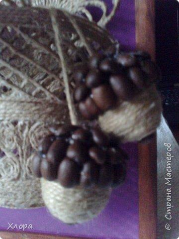 Такое вот панно с элементами джутовой филиграни подарила на День учителя любимой снохе. фото 5