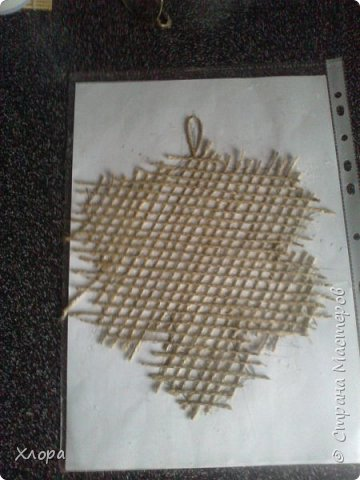 Такое вот панно с элементами джутовой филиграни подарила на День учителя любимой снохе. фото 12