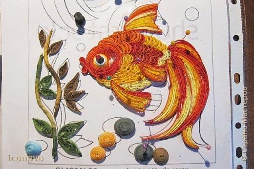 Выполнить данную работу меня,увы, подтолкнуло несчастье. Тяжело заболела моя подруга, она рыбка по знаку зодиака. Я решила попробовать немножко поднять ей настроение и к её дню рождения сделать Золотую рыбку для исполнения желаний. Рыбка Saphir меня к этому подтолкнула. http://stranamasterov.ru/node/500948 - это ссылка на её замечательную работу. фото 14
